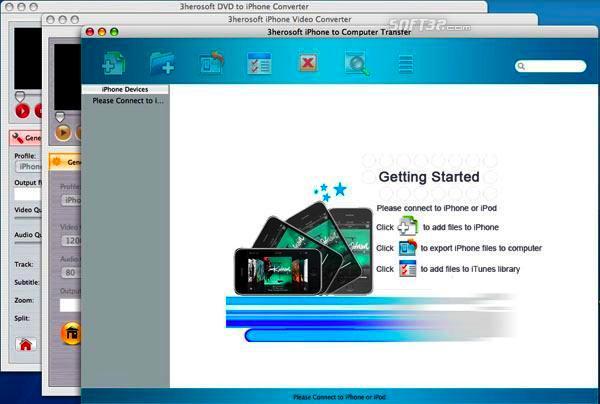 3herosoft iPhone Mate for Mac Screenshot 3