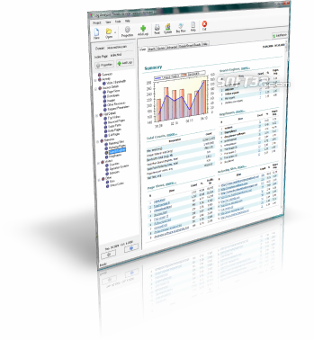Log Analyzer: Trends Freeware Screenshot 2
