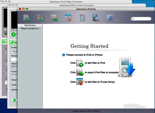 Joboshare iPod Mate for Mac Screenshot 2