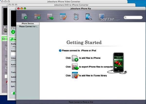 Joboshare iPhone Mate for Mac Screenshot 2