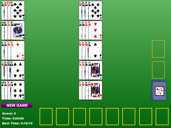 Napoleon At Saint Helena Solitaire Screenshot