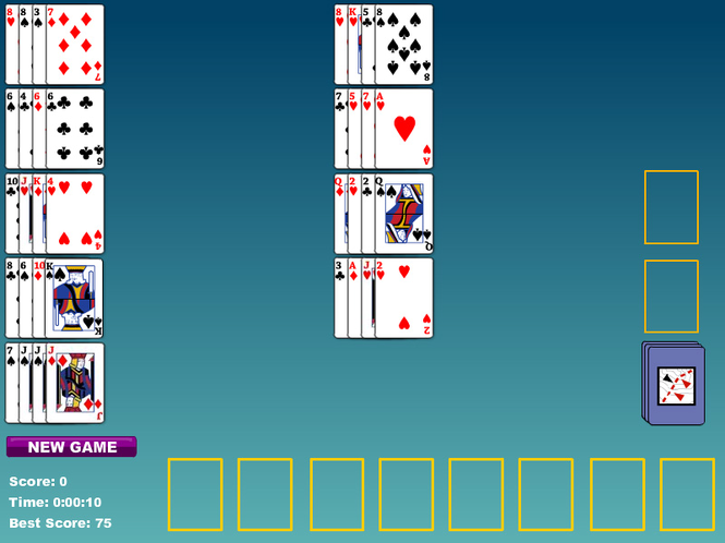 Maria Card Game Screenshot