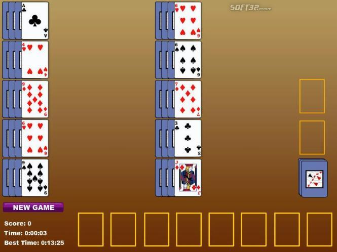 Rank And File Solitaire Screenshot 2