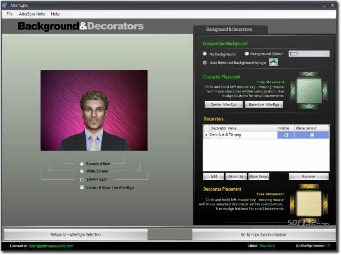 AlterEgos Screenshot 3