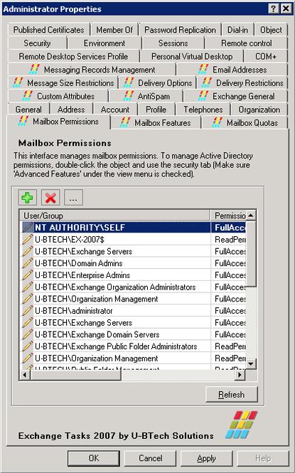 Exchange Tasks 2007 Screenshot