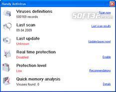 Handy Antivirus Screenshot