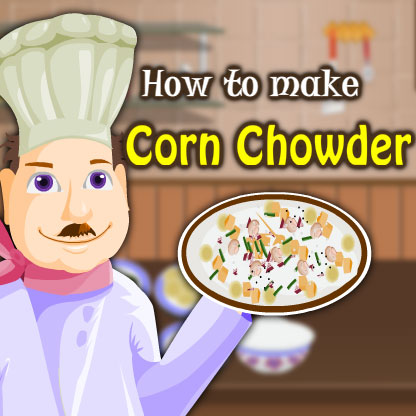 Cooking Game- Make a Corn Chowder Screenshot 1
