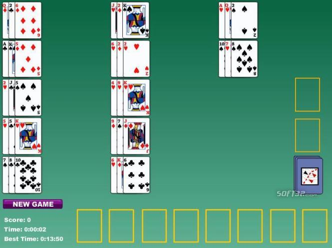 Limited Solitaire Card Game Screenshot 3