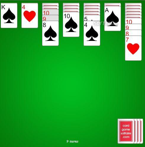 2-suit Spiderette Solitaire Screenshot 3