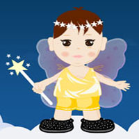 Little Angel Dress Up Game Screenshot