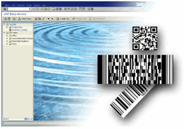 SAP Barcode DLL TBarCode/SAPwin Screenshot