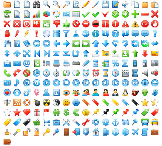 24x24 Free Application Icons Screenshot 1