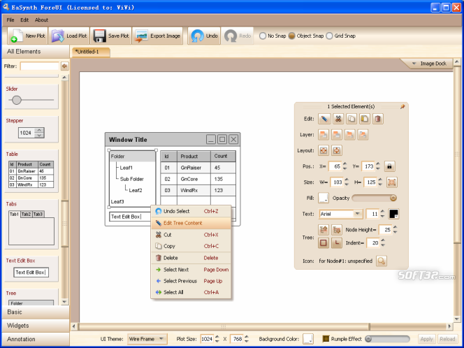 EaSynth ForeUI Screenshot 3