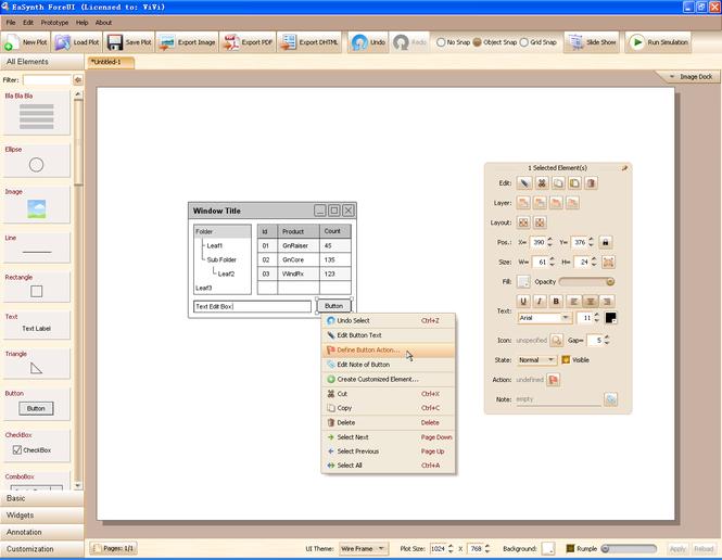EaSynth ForeUI Screenshot 1