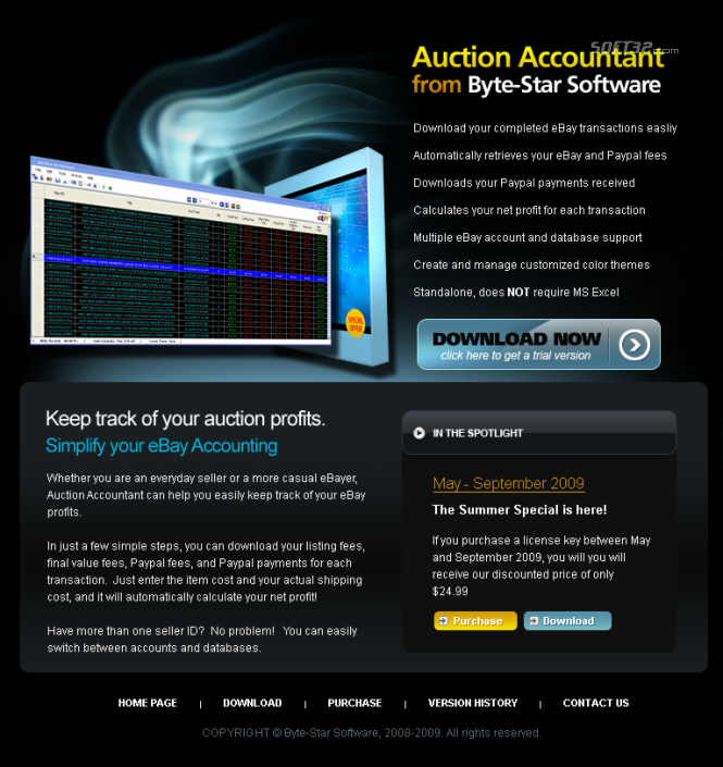 Auction Accountant Screenshot