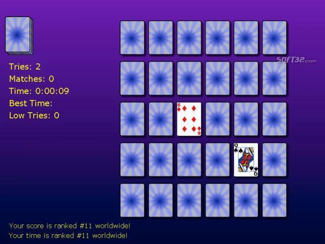Solitaire Memory Match Screenshot 2