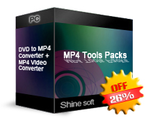 Shine MP4 Tools Packs Screenshot