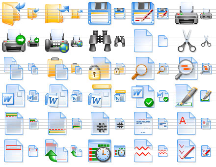 Perfect Office Icons Screenshot 1