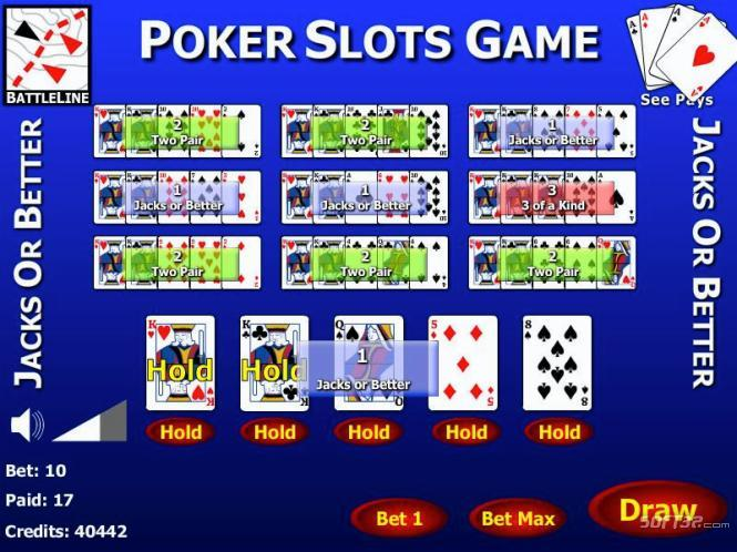 Jacks or Better 10 Play Poker Screenshot 3
