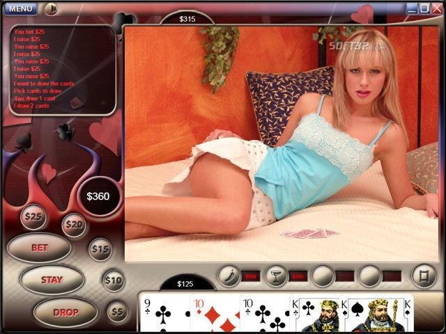 Video Strip Poker Supreme Screenshot 3