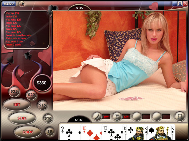 Video Strip Poker Supreme Screenshot 1