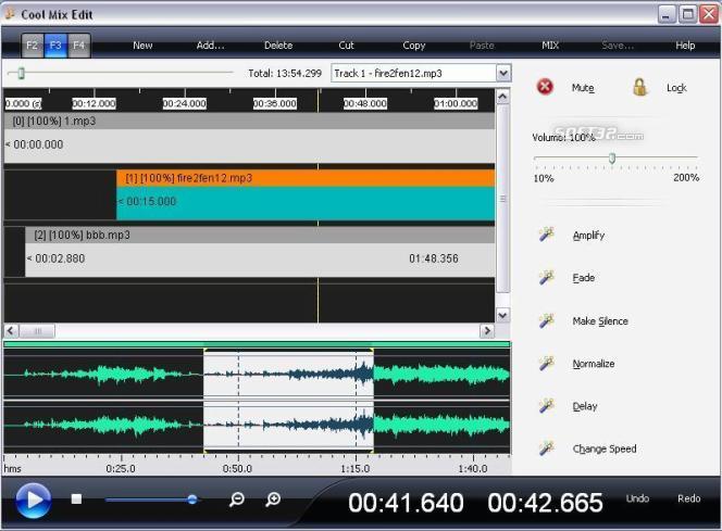 Cool Mix Edit Screenshot