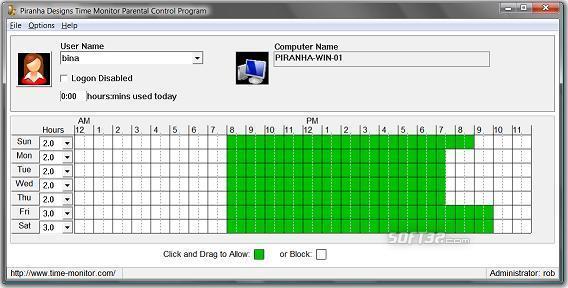 Time Monitor Screenshot 3