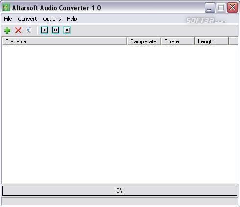 Altarsoft Audio Converter Screenshot 3