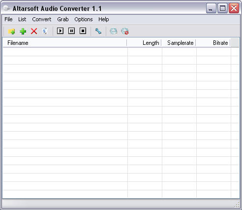 Altarsoft Audio Converter Screenshot 1