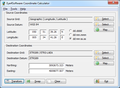 Eye4Software Coordinate Calculator 2