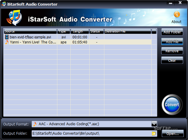 iStarSoft Audio Converter Screenshot 3
