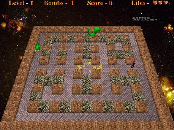 Aliens vs Bomberman Screenshot