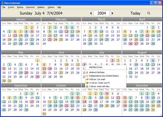 NaturCalendar Screenshot 1