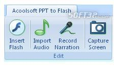 Acoolsoft PPT to Flash Screenshot 3