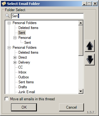 TuckAway - Intelligent Inbox organizer for Outlook Screenshot 2