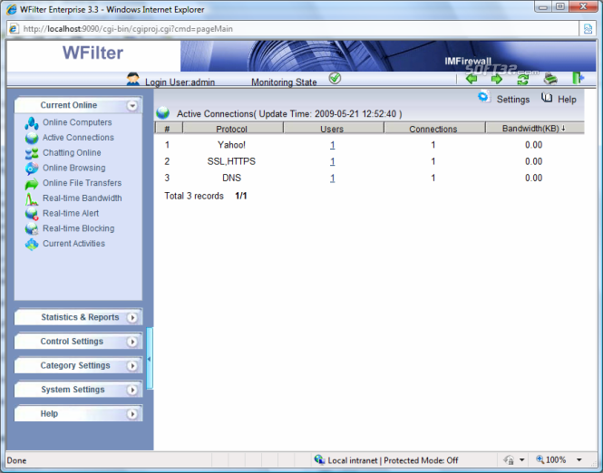 WFilter Enterprise Screenshot 6