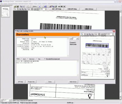ClearImage QR Screenshot