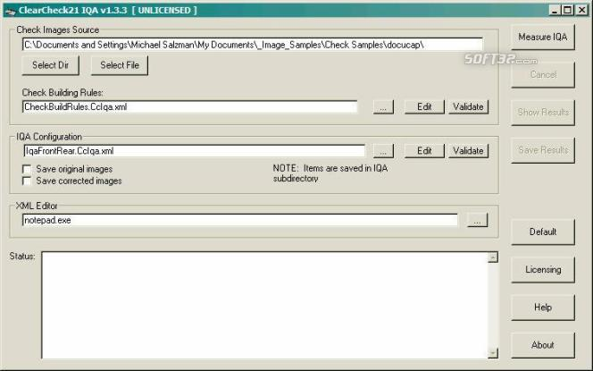 ClearCheck21 IQA Engine Screenshot 2