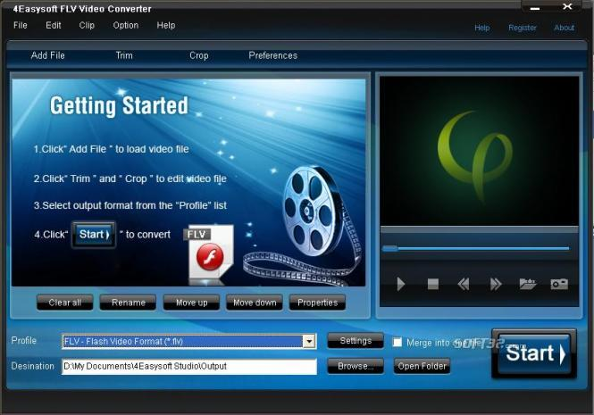 4Easysoft FLV Video Converter Screenshot 2