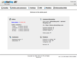 AdVantShop.NET Pro Screenshot