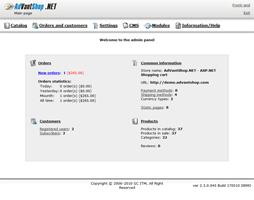 AdVantShop.NET Pro Screenshot 1