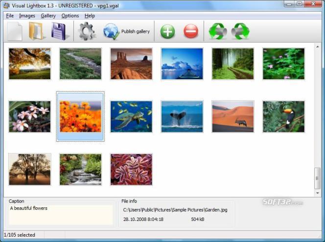 VisualLightBox Screenshot 2
