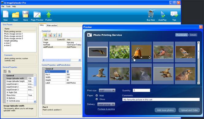 Q-ImageUploader Pro Screenshot 1