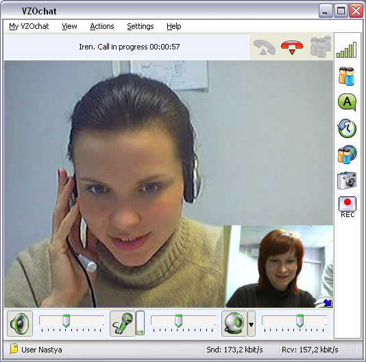 VZOchat Video Chat Screenshot 1