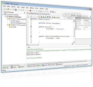 Navicoder Lite IDE for Java (Java editor for windows) Screenshot