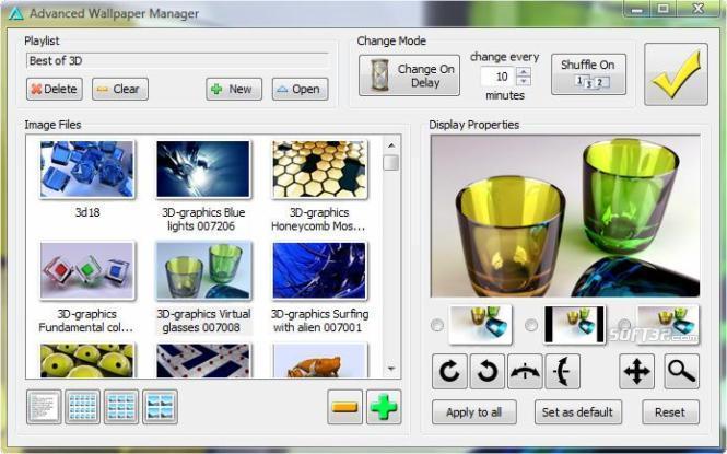 Advanced Wallpaper Manager Screenshot 2