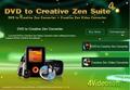 4Videosoft DVD to Creative Zen Suite 1