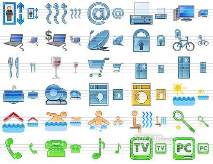 Standard Hotel Icons Screenshot 2