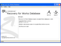 Recovery for Works Database 1