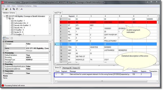 Extreme Validator Screenshot 1